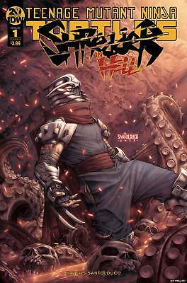 TMNT SHREDDER IN HELL #1 IDW Publishing COVER A