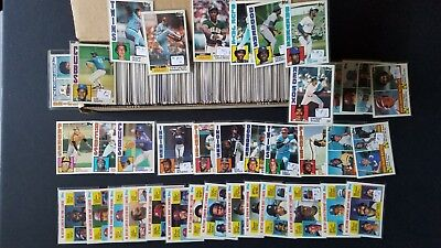 1984 Topps Tiffany Baseball Card Lot (640) Nc Set No Duplicates Nm