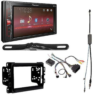 Pioneer MVH-210EX 2-DIN Bluetooth DVD Install Dash KIT For DODGE RAM 2013-2017