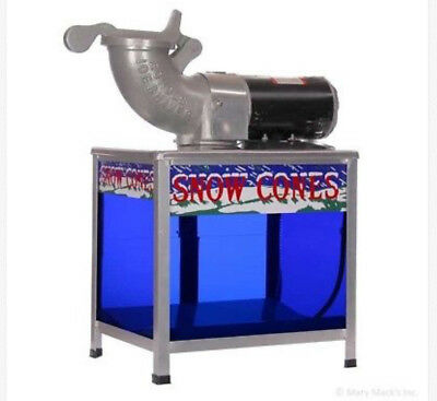 Echoes snow cone shaved Ice Machine with lighted base-1360