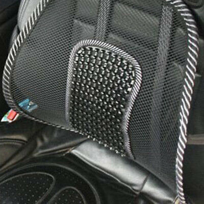 Mesh Back Lumbar Support For Car Seat Office Chair Support Waist Cushion New