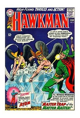 Hawkman #9 (Aug-Sep 1965, DC) g/vg