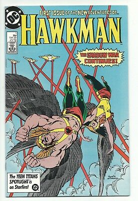 Hawkman #1 Aug 1986 DC Comics