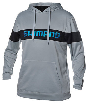 Shimano Escudo Pullover Hoodie Eschoodxxlgy Gray Adult Xx-Large