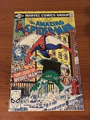 Amazing Spider-Man #212 1st Appearance Hydro-Man! Possible Movie Villain! Hot!