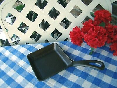 Griswold Cast Iron Square Egg Skillet #129 – Cleaned and Seasoned
