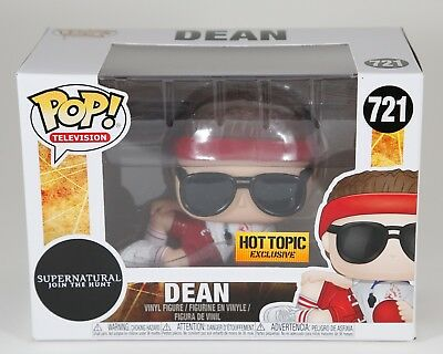 New Funko Pop Television Dean #721 - Hot Topic Exclusive - Supernatural JTH