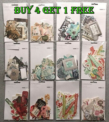 NEW SALE Kaisercraft Die Cuts Collectables 20+ Designs Scrapbooking Card