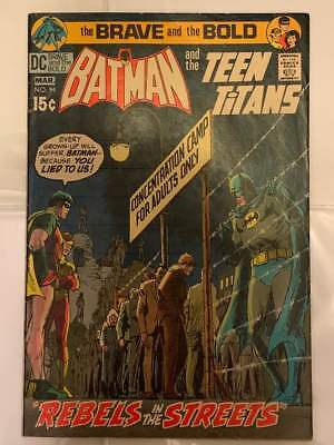 dc comics BRAVE & THE BOLD #94 (1971) Batman & Teen Titans (Robin, Wonder Girl)