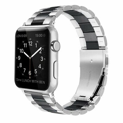 38 40 42 44mm For Apple Watch Series 1/2/3/4 Stainless Steel iWatch Band Strap