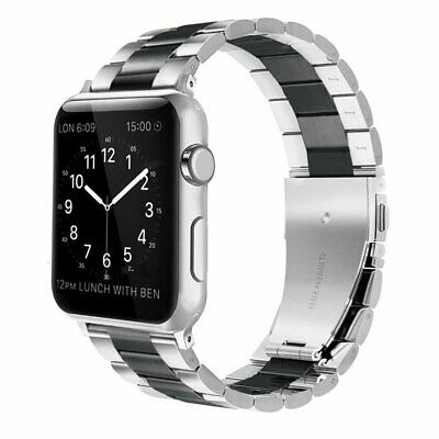 Stainless Steel iWatch Band Strap Wrist With Case For Apple Watch Series 1/2/3/4