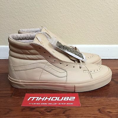 eb0c40218043 New Opening Ceremony Vans Vault Sk8-Hi LX Beige Easter Pack OC Shoes Size  10.5