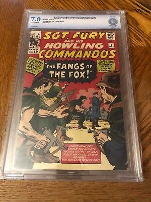 Sgt Fury and His Howling Commandos #6 CBCS 7.0