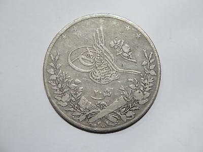 Egypt Ottoman Empire 20 Qirsh Ah1293 /10 Km#296 Old World Coin Collection Lot