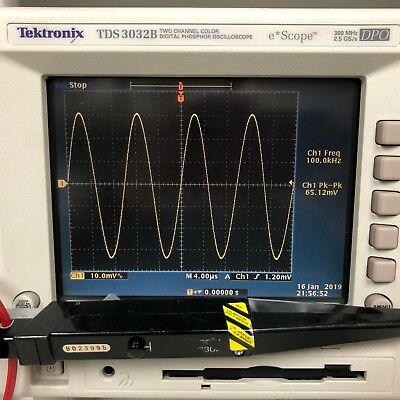 Tektronix A6302 20 A AC/DC Current Probe DC-50 MHz, S/N B023995 - SPOT ON!!!