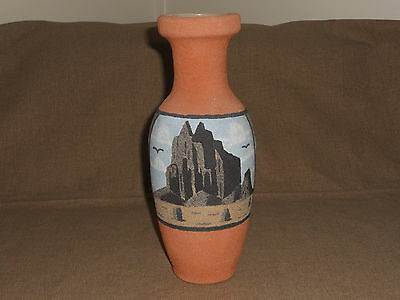 Original Navajo Sand Pottery, Artist M.Yazzie, Pitcher or Vase, Shiprock New Mex