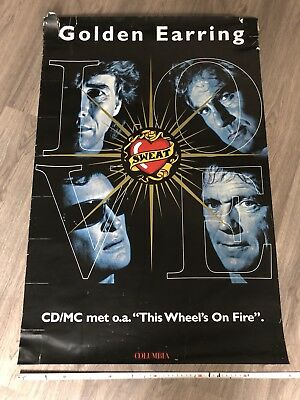 Golden Earring Promotional Poster LOVE SWEAT