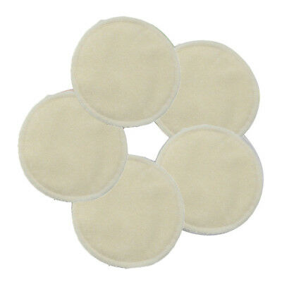 Reusable Washable Nursing Pads Feeding Absorbent Breast Shield Spill Prevention