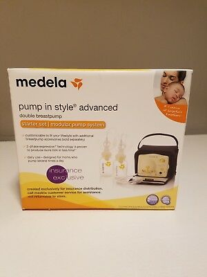 Medela Pump In Style Advanced Breastpump Starter Set - NEW! UNOPENED!