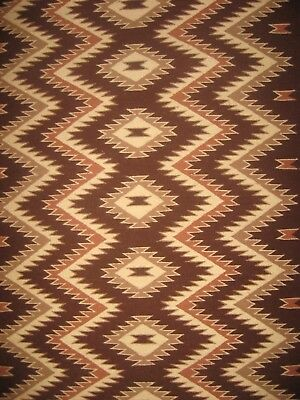 CRYSTAL REGION DAZZLER NAVAJO RUG Native American Indian WOOL BLANKET Fine Weave