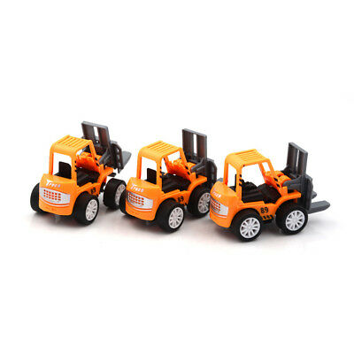 2x Engineering Vehicle Kids Mini Toys Educational Plastic Car Toy for ChildrenCN