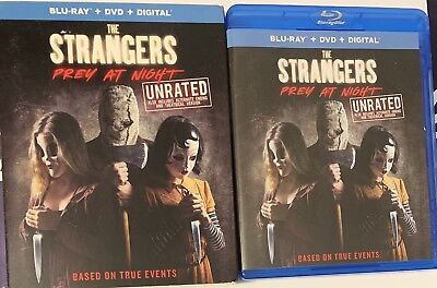The Strangers Prey At Night (Blu-Ray/DVD 2018) With Slipcover NO Digital