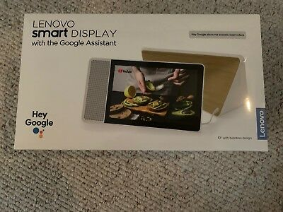 """Lenovo 10"""" Smart Display with Google Assistant Built-In, NEW FACTORY SEALED"""