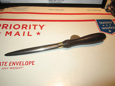 """Antique Very Good Quality Burnishing Tool In Good Used Condition 8 1/8"""""""