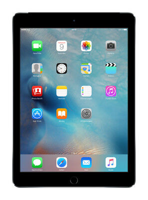 Apple iPad Air 2 64 GB WiFi + Cellular + 9,7 Zoll entsperrt Tablet - Spacegrau