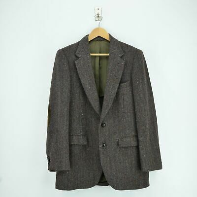 Vintage Harris Tweed Tailored by Stafford USA Sports Jacket Country Blazer 38