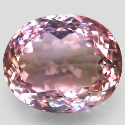 18.89ct.Dazzling Gem! 100%Natural Bi Color Ametrine Unheated 17x14mm.AAA Nr!.