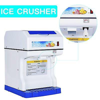 Commercial  Electric Ice Maker Ice Crusher Shaver Slush Snow Cone Machine Slushy
