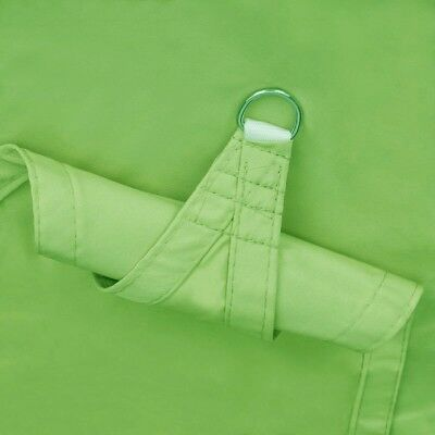Triangle Polyester Sun Shade Sail Patio Waterproof Canopy Awning Shelter Green