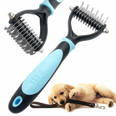 Large Professional Grooming Undercoat Rake Comb Dematting Tool FOR Cat Dog Pet