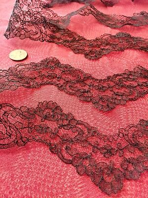 French Antique Lace Valenncia Trim  6 yards flat