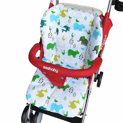 Soft Thick Warm Cotton Seat Cushion Cart Liner Stroller Pad Baby Pushchair Mat
