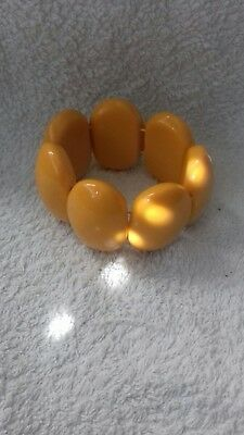Bakelit Armband Butterscotch