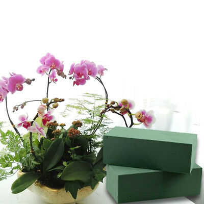 brick dry floral foam for silk or artificial flowers wedding bouquet holder NTHN
