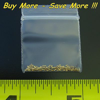 .155 Gram Natural Raw Alaskan Placer Gold Dust Fines Nugget Flake Paydirt Real