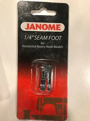 Janome 1/4 Inch Seam Foot for Horizontal Rotary Hook Models