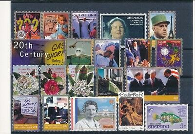 D241751 Grenada Nice selection of MNH stamps