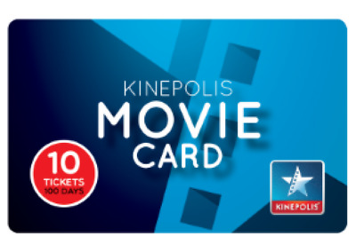 Kinepolis Carte 8 Places