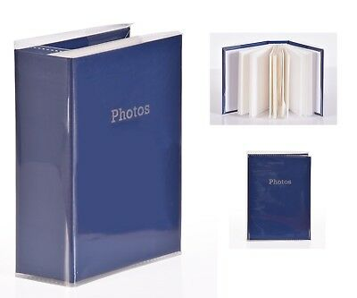 6'' x 4'' Slipin Photo Album Holds 120 Photos Photography Storage - BLUE