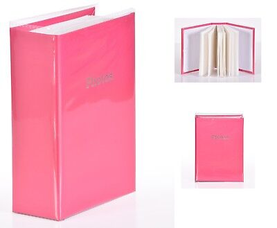 6'' x 4'' Slipin Photo Album Holds 120 Photos Photography Storage - PINK