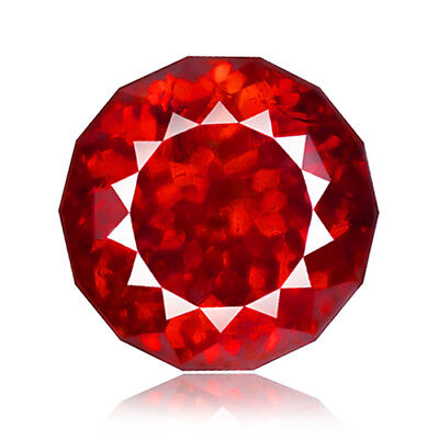 11.33ct 100%Natural earth mined extremely rare red orange color sphalerite spain