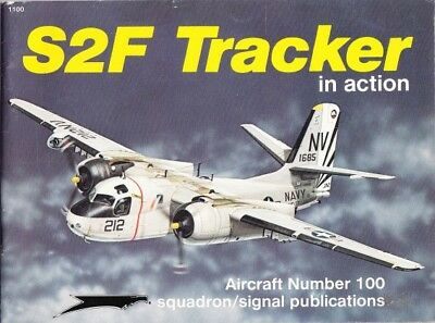 Squadron Signal Aircraft 100 S2F Tracker in action ( Vietnamkrieg Luftwaffe )