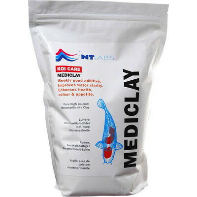 NT Labs Mediclay Algae Clear 1.5kg Montmorillonite Treatment Clay Koi Fish Pond