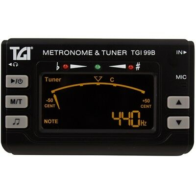TGI Chromatic Tuner and Metronome with Clip-On Mic