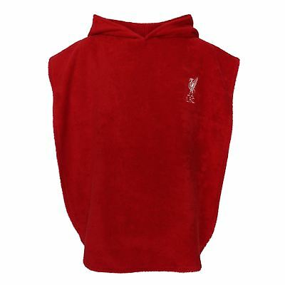 Liverpool FC Red Boys Soccer Hooded Poncho Towel SS19 LFC Official
