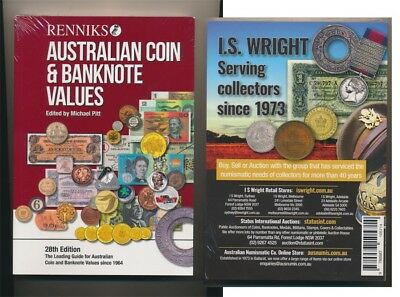 NEW Release! Renniks Australian Coin & Banknote Values, 28th Edition HARD COVER